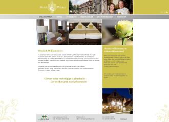 Webseite vom Hotel Winter